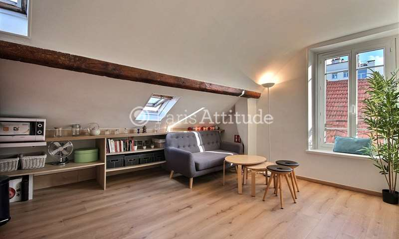Rent Apartment 2 Bedrooms 29m² rue Saint Sabin, 11 Paris