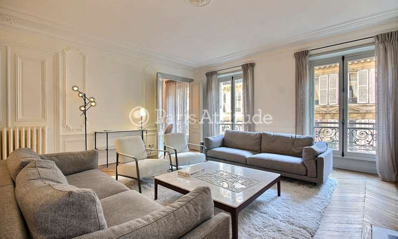 Location Appartement 3 Chambres 130m² rue Galilee, 75016 Paris