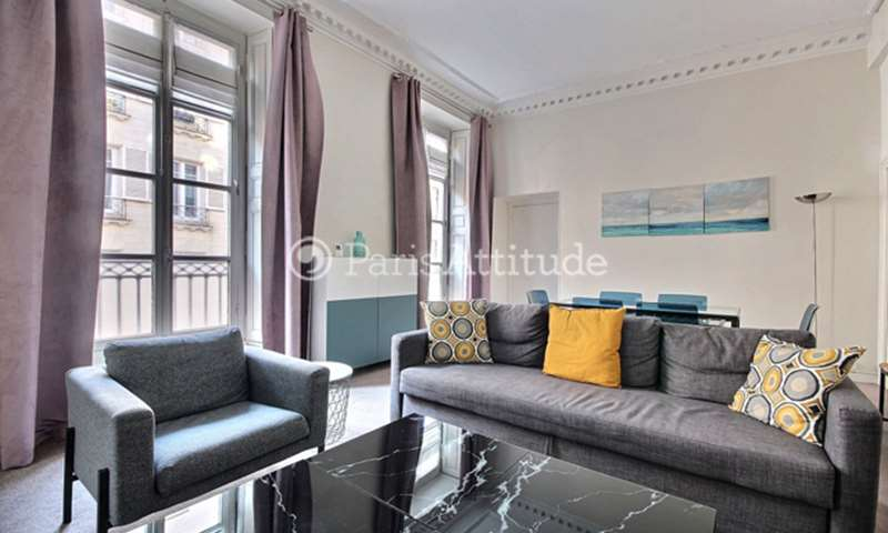 Rent Apartment 3 Bedroom 116m² rue Meslay, 75003 Paris