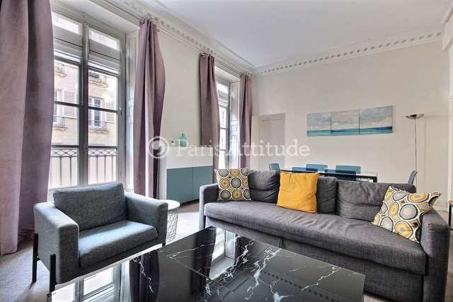 Louer Appartement meublé 3 Chambres 116m² rue Meslay, 75003 Paris