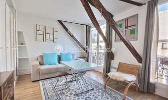 Rent Apartment 1 Bedroom 35m² rue Marie Stuart, 2 Paris