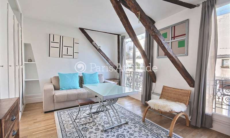 Rent Apartment 1 Bedroom 35m² rue Marie Stuart, 2 Paris