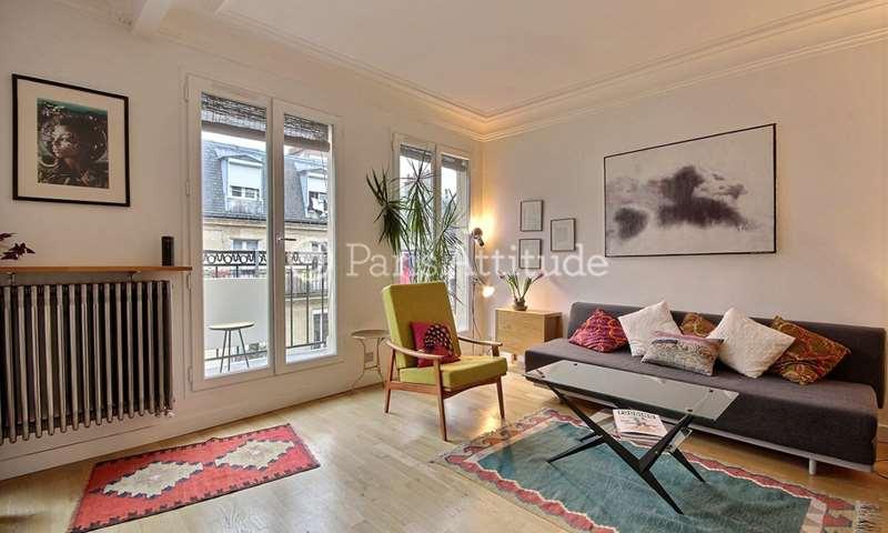 Rent Apartment 1 Bedroom 39m² rue Eugene Sue, 75018 Paris