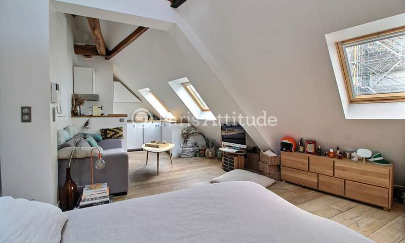 Rent Apartment Studio 26m² rue de la Chaussee d Antin, 9 Paris