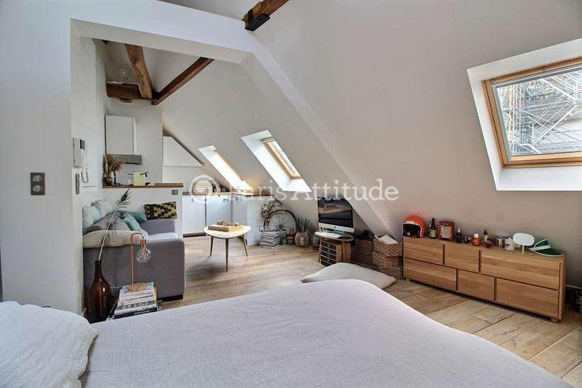 Aluguel Apartamento mobiliado Quitinete 26m² rue de la Chaussee d Antin, 75009 Paris
