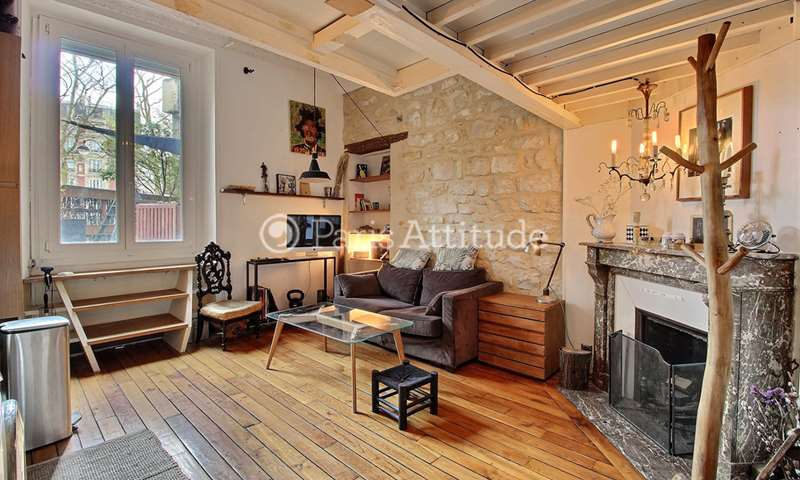Rent Apartment Studio 31m² avenue du Maine, 75014 Paris