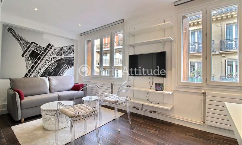 Rent Apartment Studio 23m² avenue Foch, 16 Paris