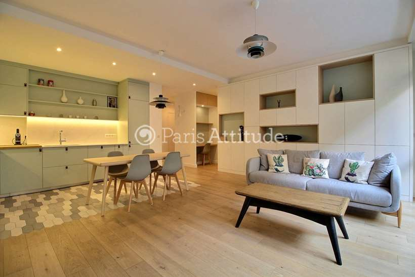 Rent furnished Apartment 3 Bedrooms 88m² boulevard Malesherbes, 75008 Paris