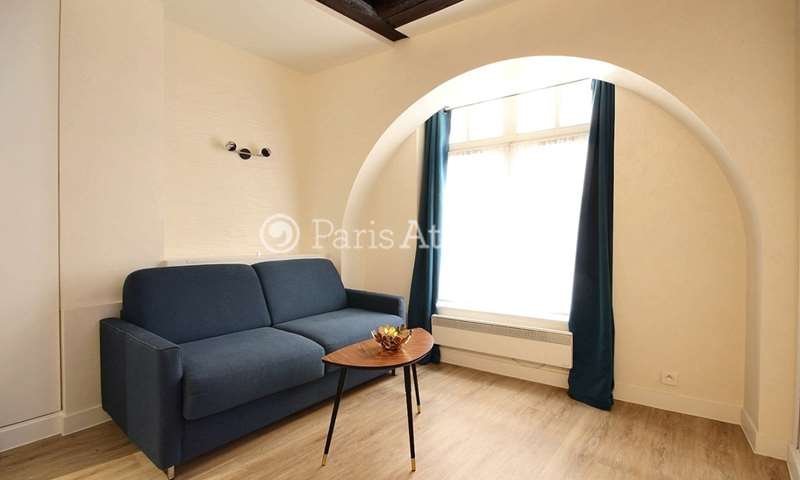 Rent Apartment Studio 15m² rue Simon Le Franc, 75004 Paris