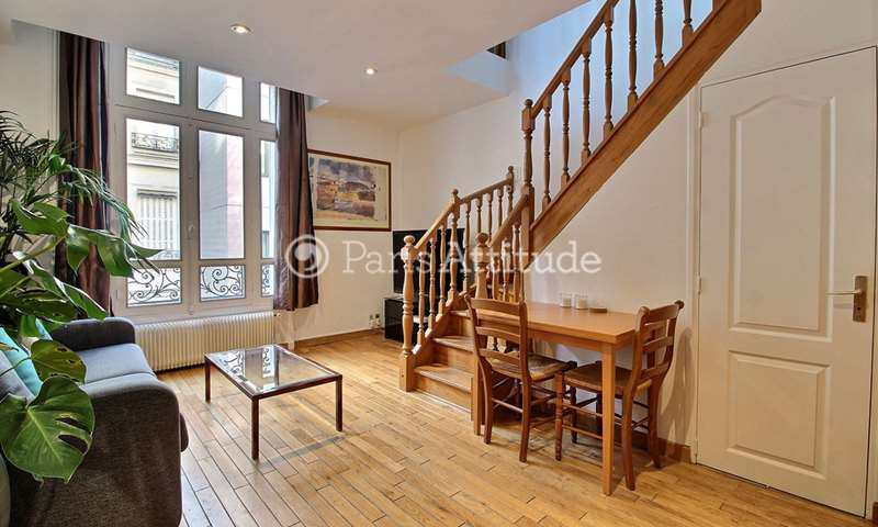 Rent Duplex 1 Bedroom 50m² avenue de Friedland, 75008 Paris