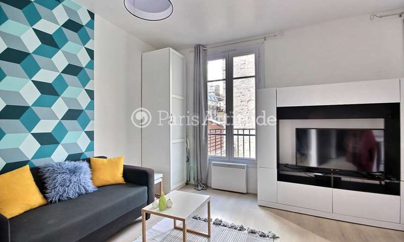 Rent Apartment Studio 27m² rue Saint Jean, 17 Paris
