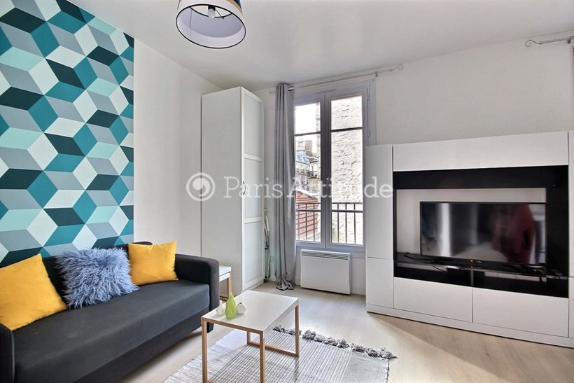 Louer Appartement meublé Studio 27m² rue Saint Jean, 75017 Paris