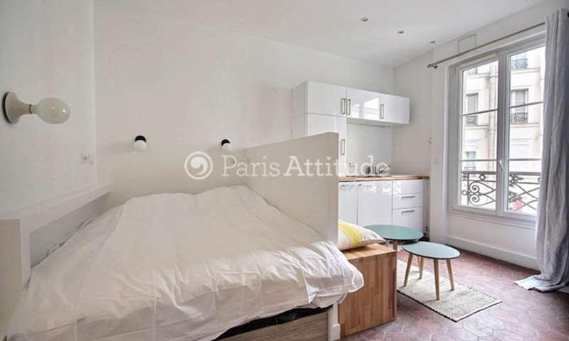 Rent Apartment Studio 18m² rue de Dunkerque, 9 Paris