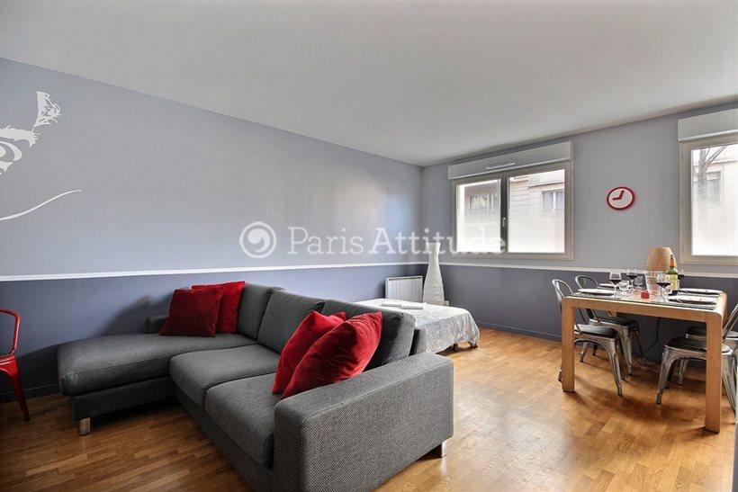 Louer Appartement meublé 1 Chambre 46m² rue Joseph Kosma, 75019 Paris