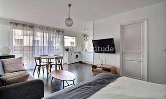 Rent Apartment Studio 33m² rue Felicien David, 16 Paris
