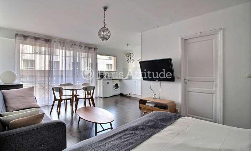 Aluguel Apartamento Quitinete 33m² rue Felicien David, 16 Paris