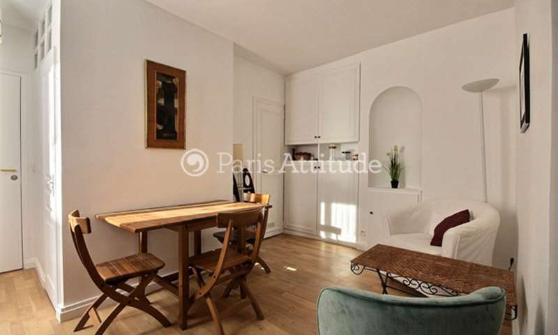 Rent Apartment Alcove Studio 25m² rue des Batignolles, 17 Paris