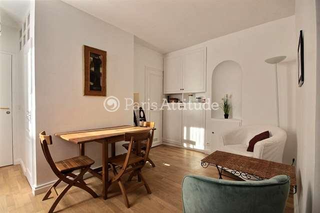 Louer Appartement meublé Alcove Studio 25m² rue des Batignolles, 75017 Paris