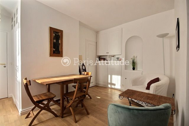 Rent furnished Apartment Alcove Studio 25m² rue des Batignolles, 75017 Paris