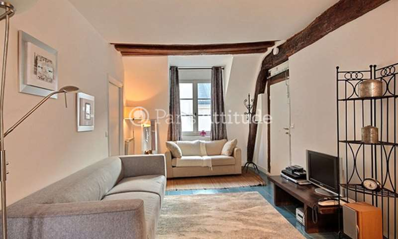 Rent Apartment 2 Bedrooms 50m² rue des Rosiers, 4 Paris