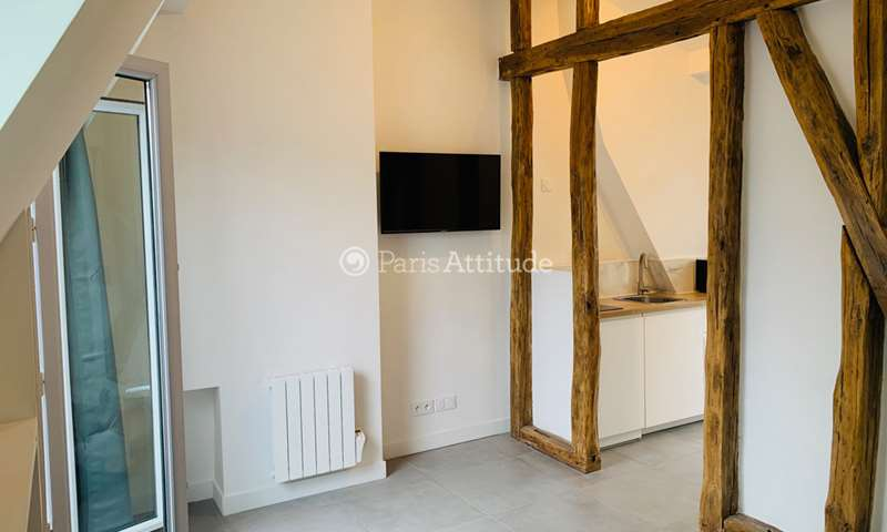 Location Appartement Studio 18m² rue Rochebrune, 11 Paris