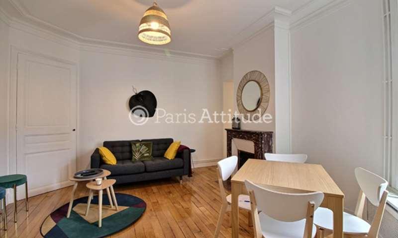 Location Appartement 2 Chambres 56m² rue Truffaut, 75017 Paris