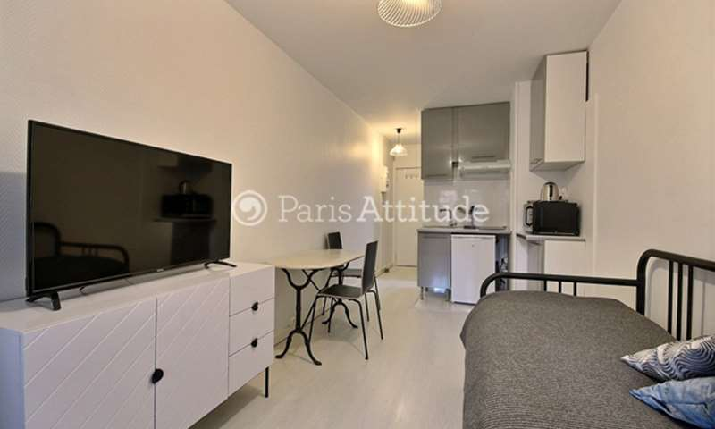 Rent Apartment Studio 18m² rue des Entrepreneurs, 15 Paris