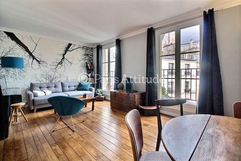 Louer Appartement meublé 1 Chambre 49m² cite Dupetit Thouars, 75003 Paris