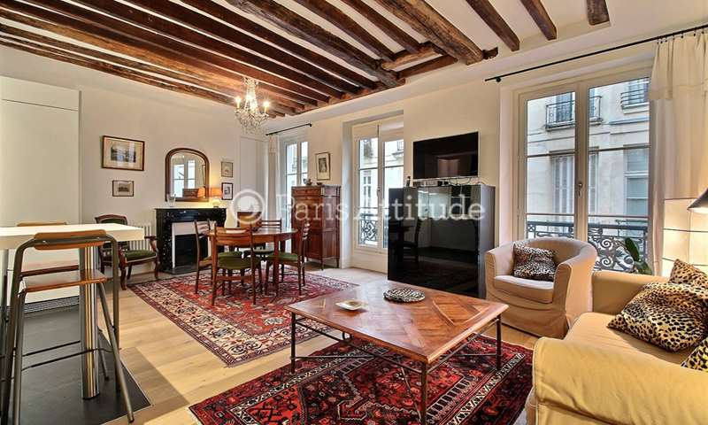 Rent Apartment 1 Bedroom 57m² rue du Dragon, 6 Paris