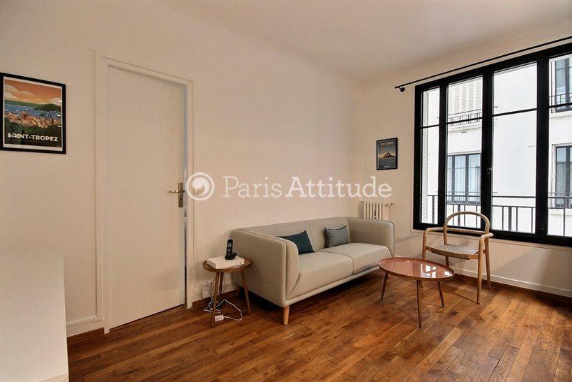 Rent furnished Apartment 1 Bedroom 36m² rue Pau Casals, 92100 Boulogne Billancourt