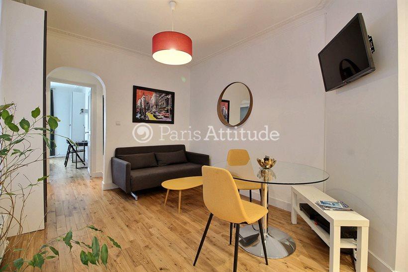 Aluguel Apartamento mobiliado 1 quarto 42m² rue de Turin, 75008 Paris