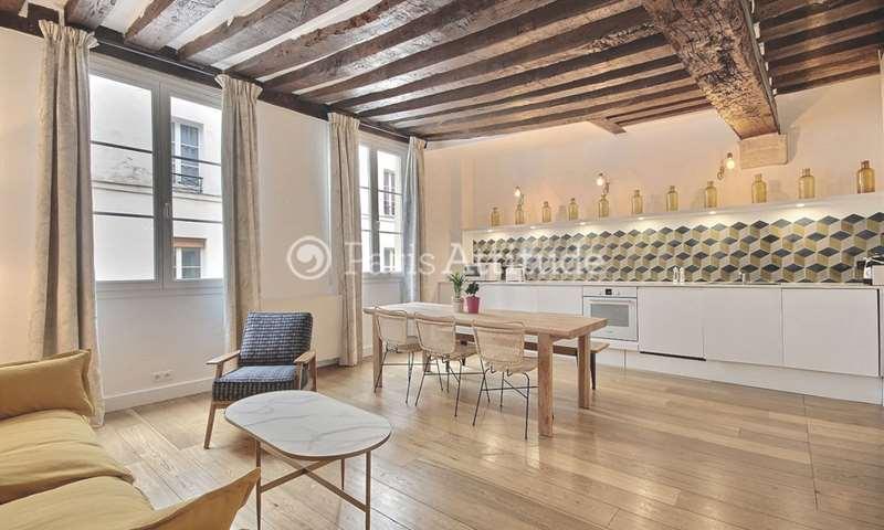Rent Apartment 1 Bedroom 47m² rue du Cygne, 1 Paris