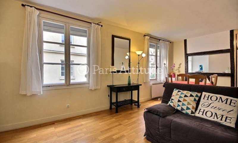 Rent Apartment 1 Bedroom 37m² rue Linne, 5 Paris