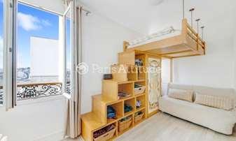 Location Appartement Studio 19m² rue Andre Barsacq, 18 Paris