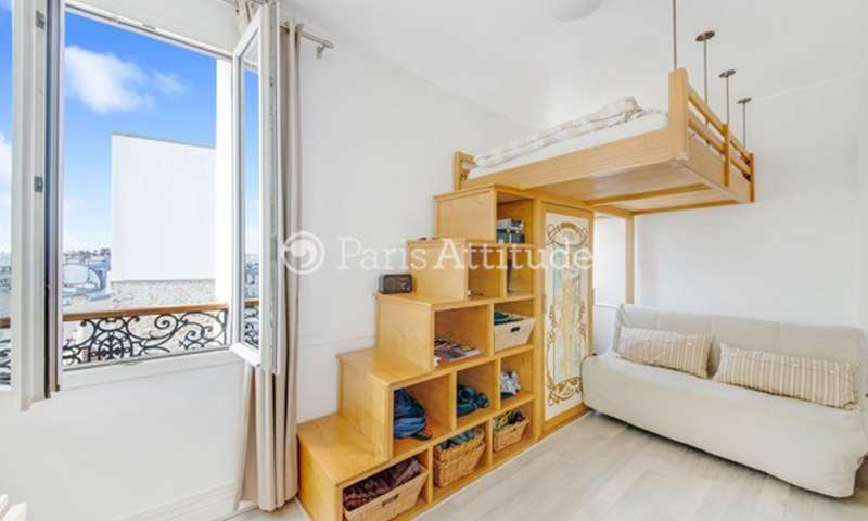 Rent Apartment Studio 19m² rue Andre Barsacq, 75018 Paris