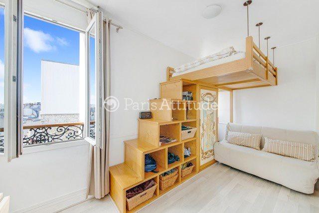 Louer Appartement meublé Studio 19m² rue Andre Barsacq, 75018 Paris