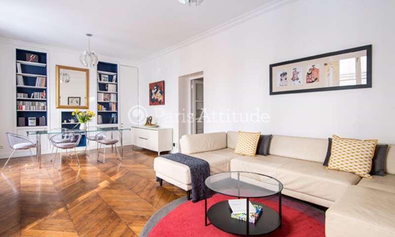 Rent Apartment 2 Bedrooms 100m² rue du Chevalier Saint Georges, 1 Paris