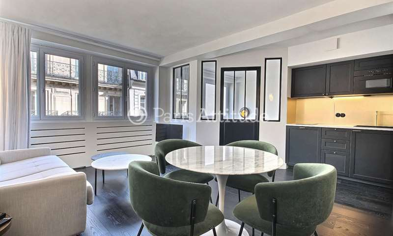 Rent Apartment Studio 37m² rue d Anjou, 8 Paris