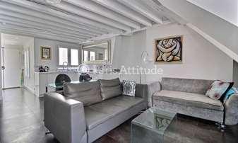 Location Duplex 1 Chambre 42m² rue Vieille du Temple, 4 Paris