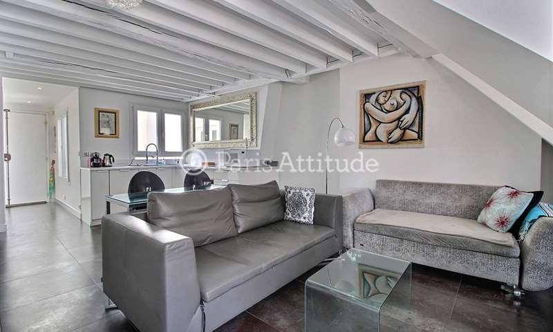 Rent Duplex 1 Bedroom 42m² rue Vieille du Temple, 75004 Paris