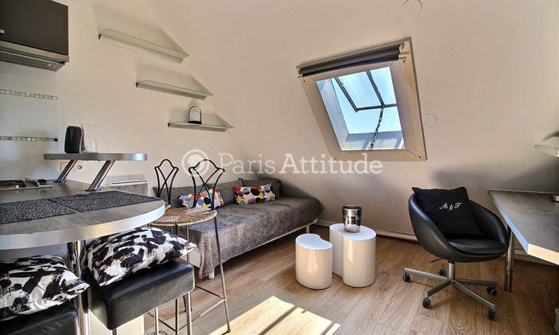 Rent Apartment Studio 15m² avenue Kleber, 75016 Paris
