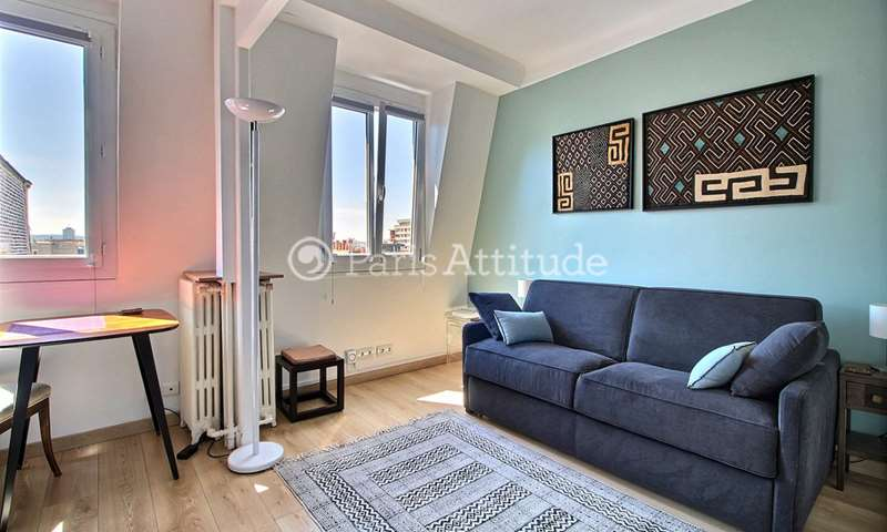 Rent Apartment Studio 23m² place Adolphe Cherioux, 15 Paris