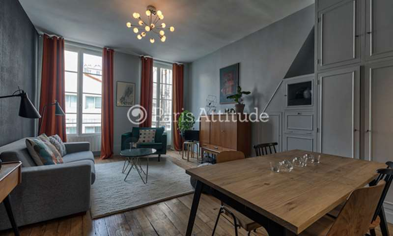 Location Appartement 1 Chambre 45m² rue du Faubourg Saint Denis, 75010 Paris