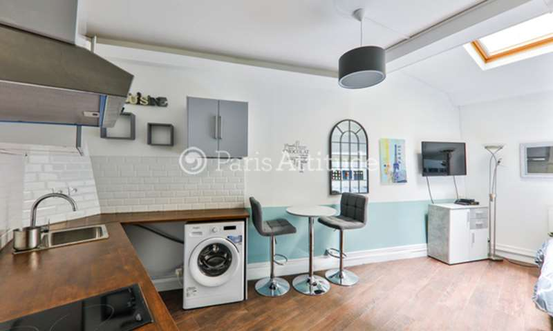 Rent Apartment Studio 19m² rue de Poitou, 3 Paris