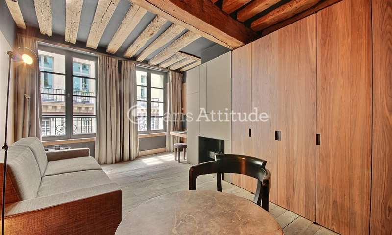 Rent Apartment Studio 25m² rue Saint Honore, 75001 Paris