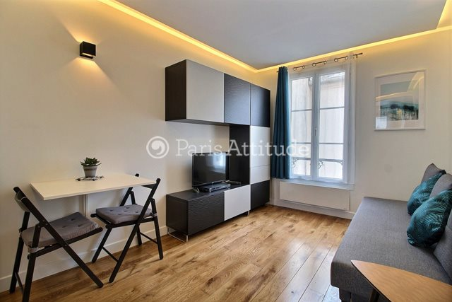 Rent furnished Apartment Studio 22m² impasse Delaunay, 75011 Paris