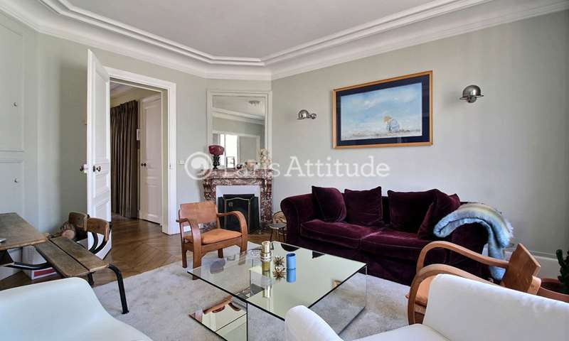 Rent Apartment 1 Bedroom 63m² rue Lauriston, 16 Paris