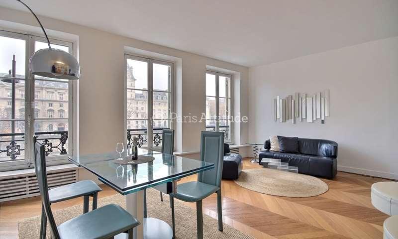 Rent Apartment 1 Bedroom 55m² Quai des Grands Augustins, 6 Paris