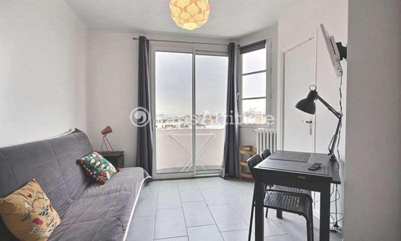 Rent Apartment Studio 15m² rue Saint Maur, 75011 Paris
