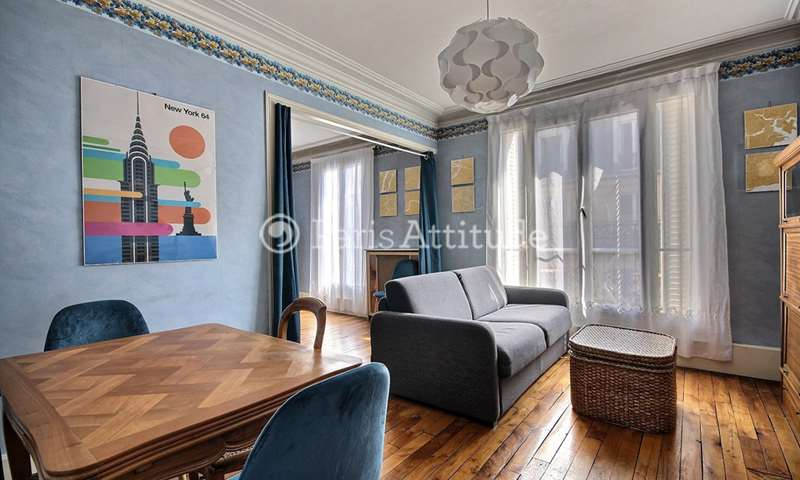 Rent Apartment 1 Bedroom 51m² rue Lamarck, 75018 Paris